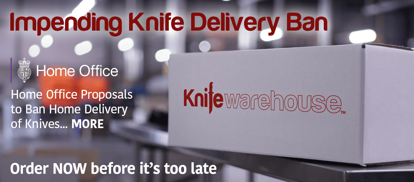Business as usual at knife warehouse