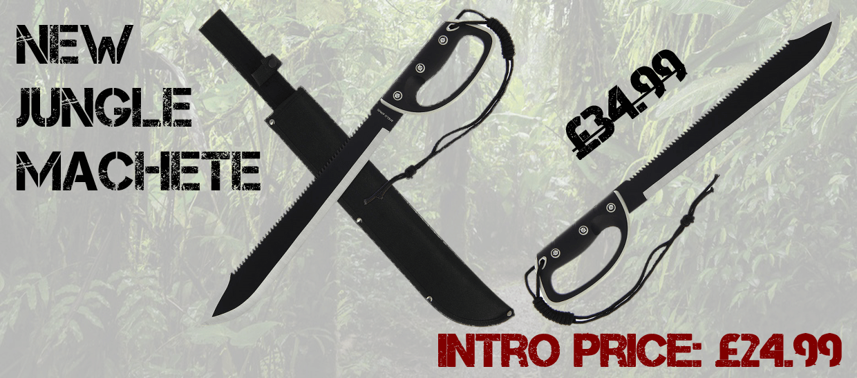 Jungle Machete Banner