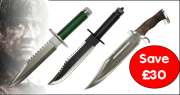 Rambo knives bundle offer