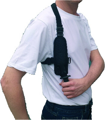 covert shoulder holster knife