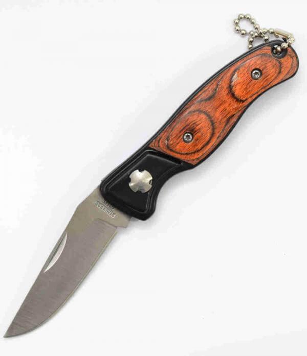 Uk Legal Edc Folding Knife Wood Handle Knifewarehouse