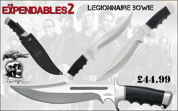 The Expendables Legion Bowie Knife Knifewarehouse