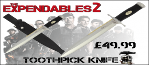 Expendables Knife Toothpick