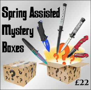 spring assisted knives mystery box lucky dip