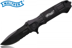 Walther Black Tac Lock Knife Main