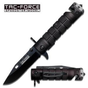 Black Grenade Spring Assisted Knife, Spring Assisted Knives