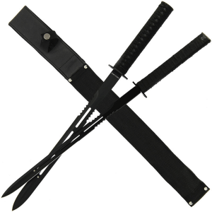 23.75 Magnetic Dual Machete System with Nylon Sheath (862)