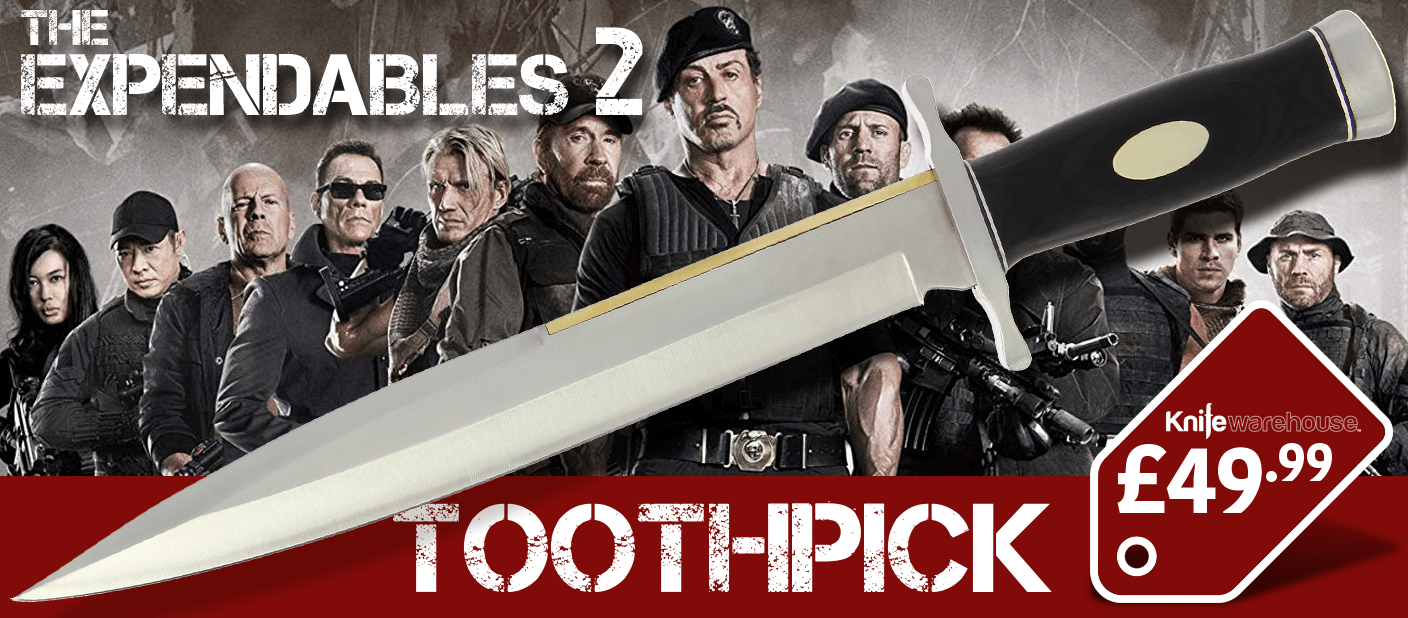 Expendables Toothpick Banner