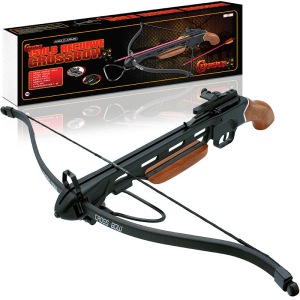 150lb short wood stock crossbow