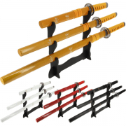 3 Piece Samurai Sword Set