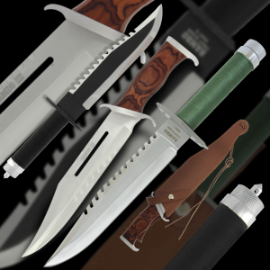3 Rambo Knives – Collection Offer