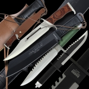 Rambo Knife Collection Offer- 4 Knives