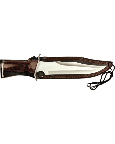16 Inch Deluxe Pakkawood Hunting Knife