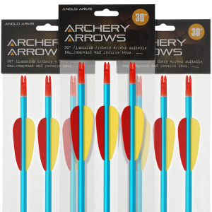 30 Inch Aluminium Arrows x 3