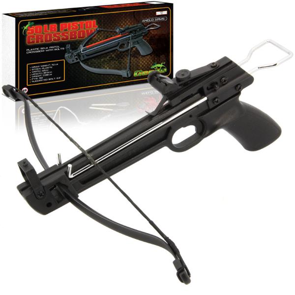 50lb Geeko Plastic Pistol Crossbow