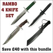 Rambo 4 Knife Set
