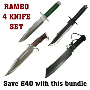 Rambo 4 Knife Set