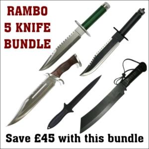 SKU Rambo 5 Knife Bundle Offer