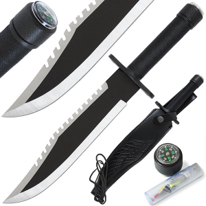 Rambo Style Classic Survival Knife