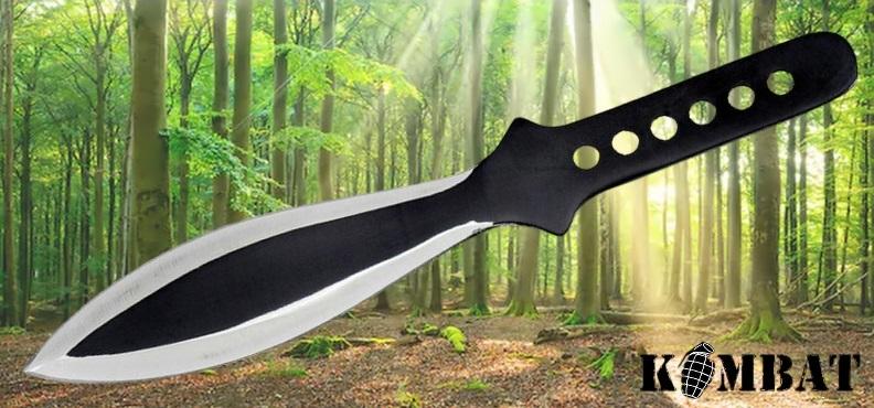 Single Black Throwing Knife