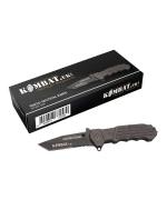 Tanto Lock Knife - Titanium Coated Blade