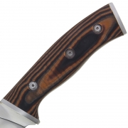 Brown Micarta Fixed Blade Anglo Arms Knife