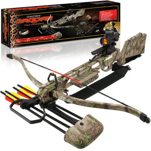 175lb Camo Deluxe Crossbow Set