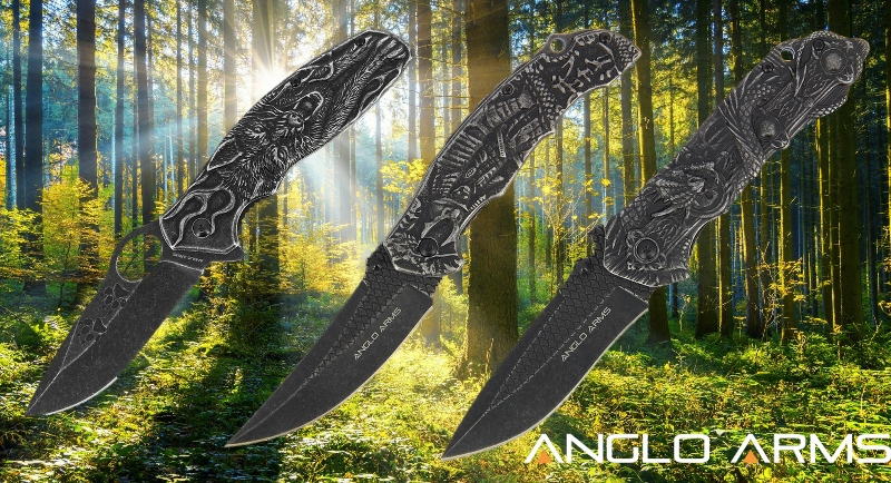 Heavyweight lock knife collection