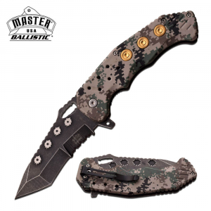 Digital Camo Bullet Knife