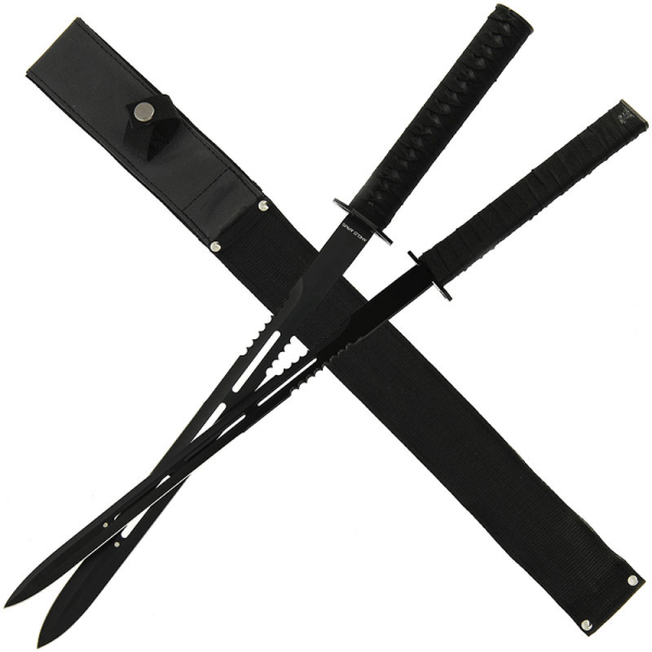 23.75 Magnetic Dual Machete System with Nylon Sheath (862)