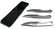 Set of 3 throwing knives