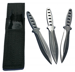 Set of 3 Grenade Throwing Knives