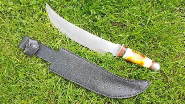 Janbiya Arab Knife Bone Handle Knife