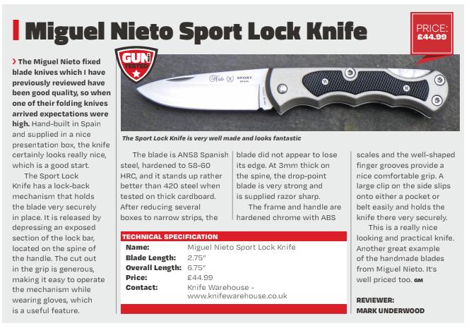 Gun mart Miguel Nieto Sport Review