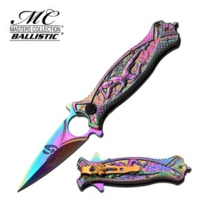 SKU MC-A030RB masters_collection_japanese_ballistic_dagger_-_rainbow