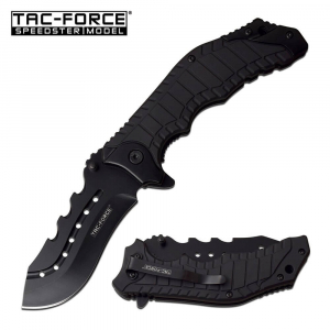 Black Tac Force Police Knife