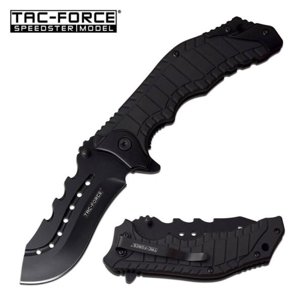Black Tac Force Police Knife