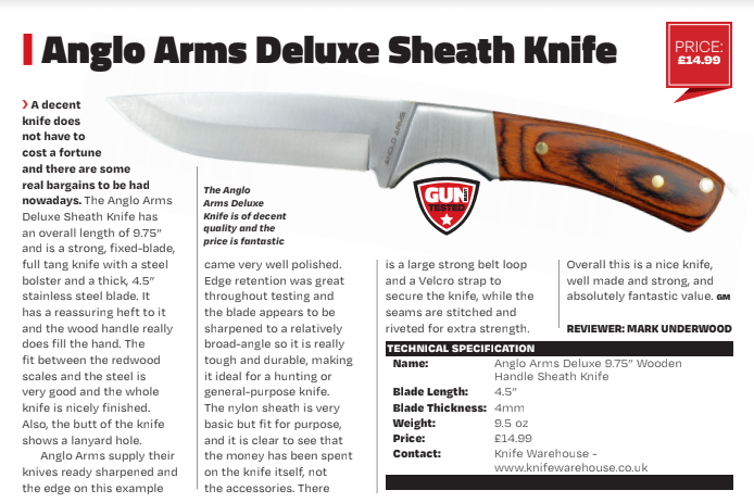Fixed blade knife review