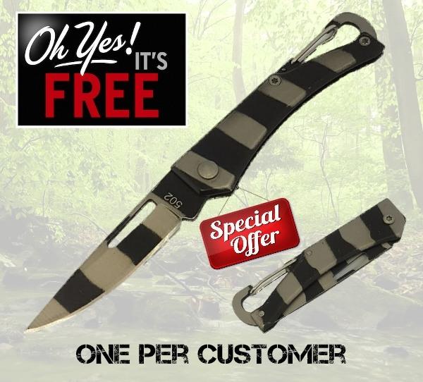 Free EDC folding knife