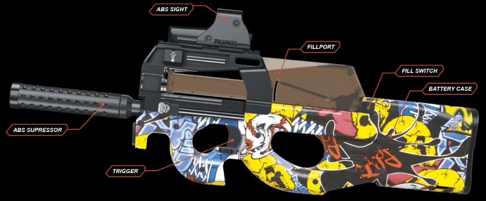 Gelsoft Machine Gun