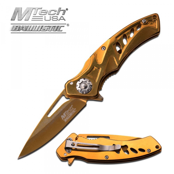 MTech Gold Ballistic Knife