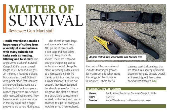 Gunmart Bushcraft Knife Review