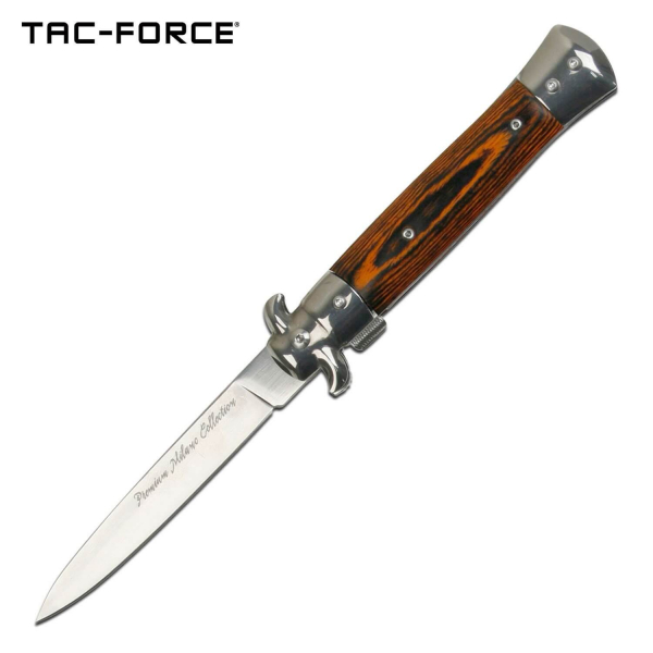 Tac-Force Italian Style Stiletto - Brown