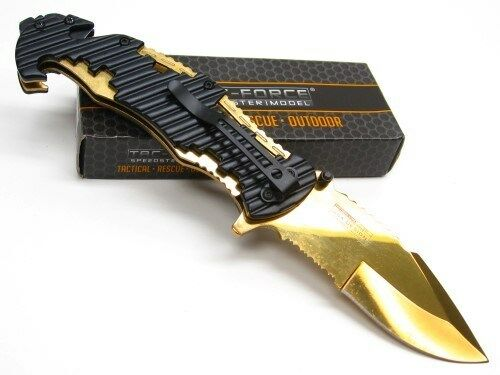 Tac-Force Spring Assisted Mutineer Folding Knife - Orange
