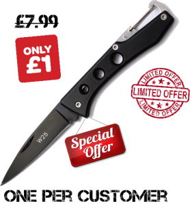 EDC folding knife special offer