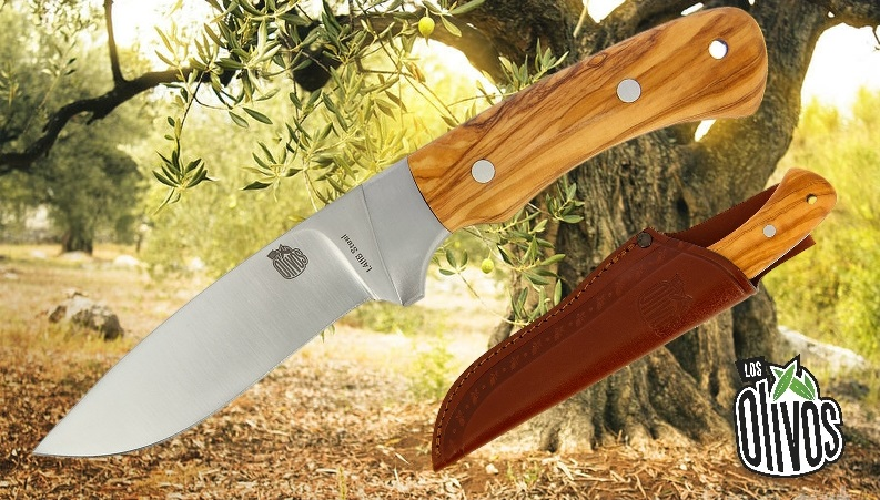 Los Olivos Bushcraft Knife Cheetah
