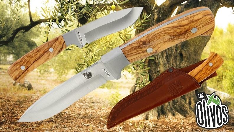 Los Olivos Corzo Olive Wood Sheath Knife