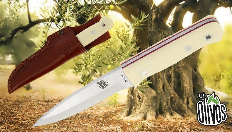Los Olivos Ivory Bushcraft Knife