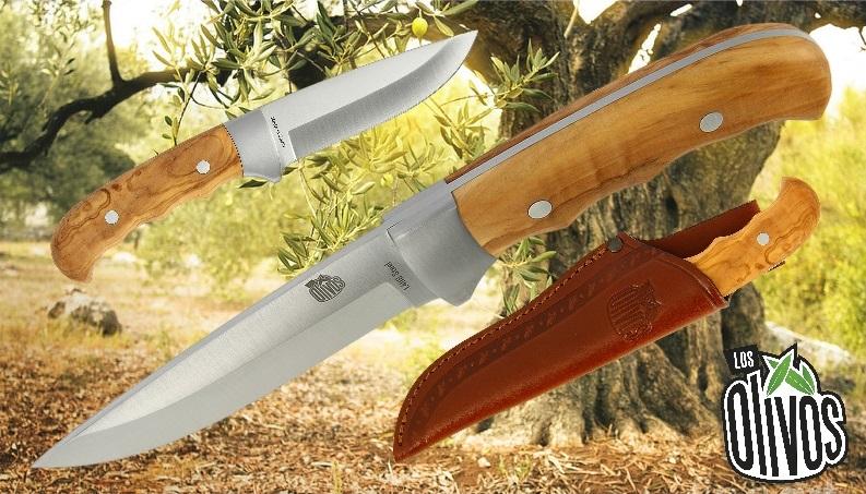 Los Olivos Lince Bolster Olive Wood Knife