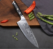 Turwho Japanese Damascus Steel Kitchen Chef Knife